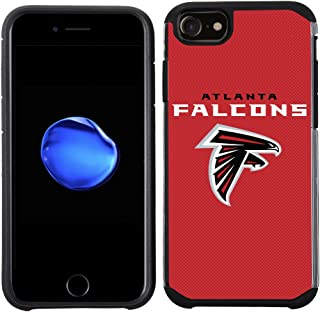 Prime Brands Group Cell Phone Case for Apple iPhone 8/ iPhone 7/ iPhone 6S/ iPhone 6 - NFL Licensed Atlanta Falcons Textured Solid Color