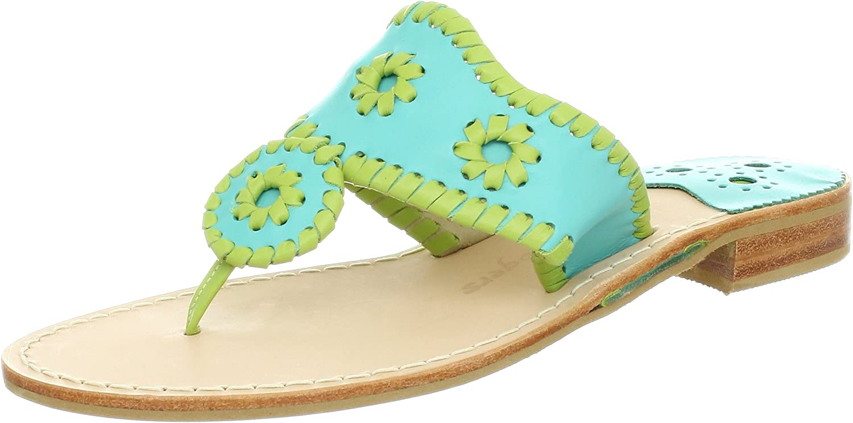 Jack Rogers Women's Navajo Pop Thong Sandal