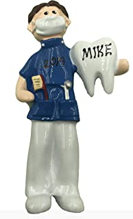 Personalized Dentist Male Christmas Ornament 2019