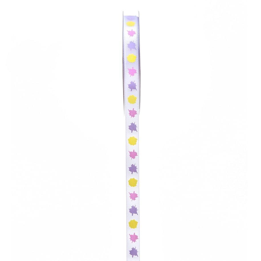 Darice Paint Splatter Ribbon, 3/8