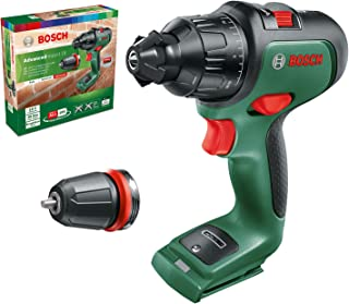 Sponsored Ad – Bosch 06039B510C Cordless Drill AdvancedImpact 18 (without battery, 18 volt system, in carton packaging), 2...