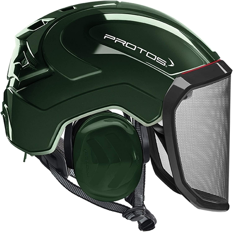 Pfanner Max 42% OFF Protos Safety and trust Integral Arborist - Helmet Olive