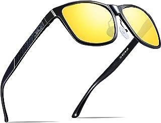 3195175c8a3 ATTCL Men s Retro Metal Frame Driving Polarized Sunglasses Al-Mg Metal  Frame Ultra Light