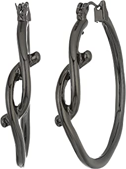 Robert Lee Morris - Knot Hoop Earrings
