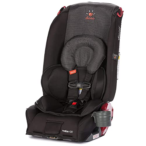 Diono Radian R120 All-in-One Convertible Car Seat, For Children from Birth to 120 Pounds, Twilight (Discontinued by Manufacture)