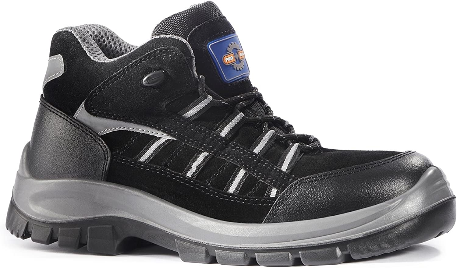 Rock Fall Pro Man Hartford ESD Black Composite Toe Cap Non-Metallic Safety Boots