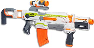 NERF Modulus - ECS 10 Motorised Blaster inc 10 Elite Darts & Acc - Kids Toys & Outdoor Games - Ages 8+