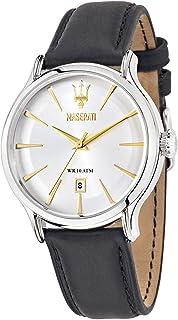 مزراتي ساعة يد رجاليه بسوار جلد، R8851118002