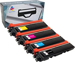 Triple Best ® 4 Pack Compatible Laser Toner Cartridges for Brother TN210 Black Cyan Magenta Yellow Compatible Toner Cartridge for DCP-9010CN HL-3040CN HL-3045CN HL-3070CW HL-3075CW MFC-9010CN MFC-9120CN MFC-9125CN MFC-9320CN MFC-9320CW MFC-9325CW