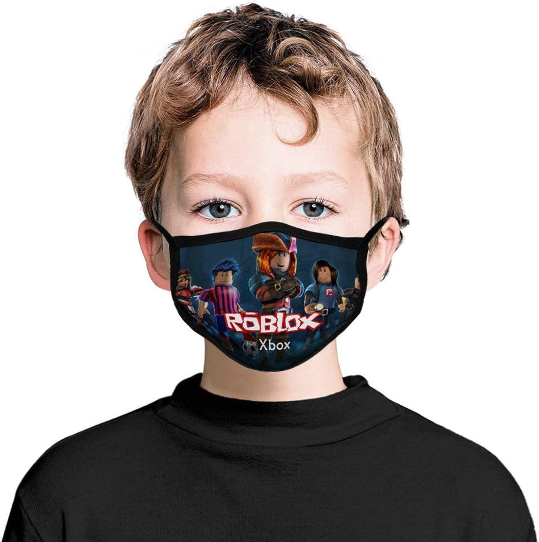 3PCS Kids Bandanas Face-Mask Headwear Balaclava Face Cover Neck Gaiter for Outdoors, Sports