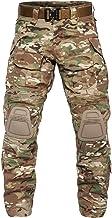 YEVHEV Tactische broek heren G3 US militair camouflage ripstop met kniebeschermers voor outdoor-activiteiten (zonder riem)