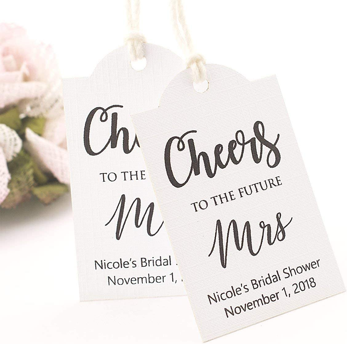 Future Mrs. Thank You From the Soon to be Mrs Wedding Thank You Cards Bridal Shower Gift CS01 CHOOSE QTY! Bridal Shower Bachelorette