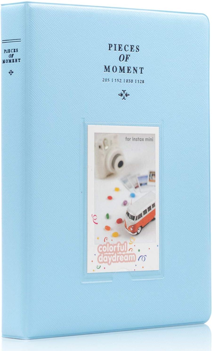 Smokey White 9 25 26 50s 70 90 Instant Camera /& Name Card Ablus 128 Pockets Mini Photo Album for Fujifilm Instax Mini 7s 8 8