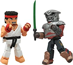 Diamond Select Toys Street Fighter X Tekken Minimates Series 2: Ryu vs Yoshimitsu, 2-Pack