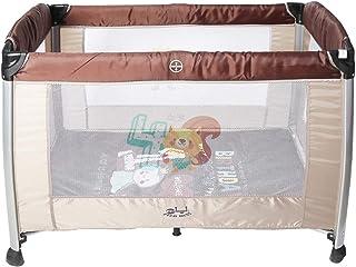 ايفربست سرير الاطفال المحمول للعب للاطفال - بني - DGL-88736