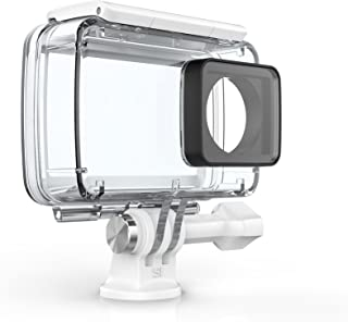 YI Carcasa Resistente al Agua para 4K Cámara de acción (Accesorios Oficiales) Color Blanco