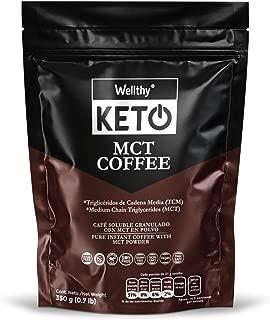 CAFE KETO, Ideal para dieta KETO ó cetogenica y Paleo, cetosis rápida, GLUTEN FREE, NATURAL, VEGAN, SUGAR FREE, NON GMO, DAIRY FREE, PALM FREE.