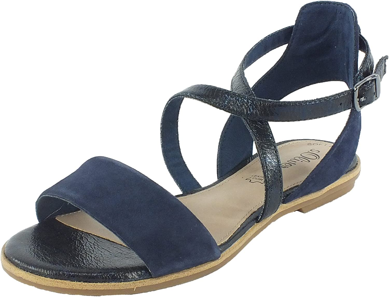 S.Oliver Damen Sandaletten 5-5-28104-28 805 blau 264595  | Hochwertige Produkte