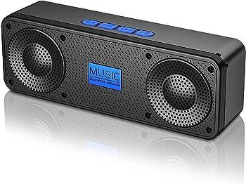 Blue Wore S18 Portable Bluetooth 3D Stereo Hi-Fi Bass Speaker (Blue)