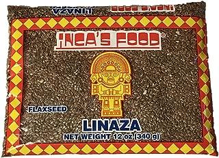 Inca's Food Linaza Flaxseed (Linseed) Product of Peru 12oz