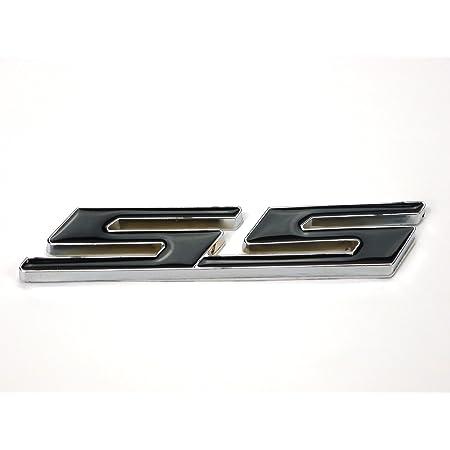Metall Emblem Aufkleber Supersport Ss Schwarz Auto