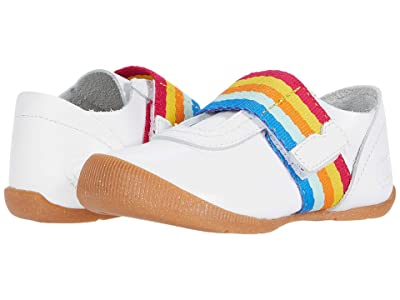 Livie & Luca Champ (Infant/Toddler) (Bright White/Rainbow) Kid