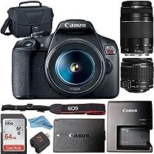 Canon EOS Rebel T7 24.1MP Digital SLR Camera Retail Packaging Bundle (Canon 18-55mm & 75-300mm Premium Bundle)