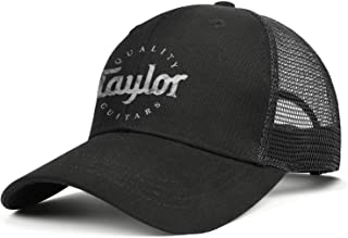 Trucker Cap Quality-Taylor-Guitars-Flash-Gold- Basketball Designer Caps Personalized Graphic Hats