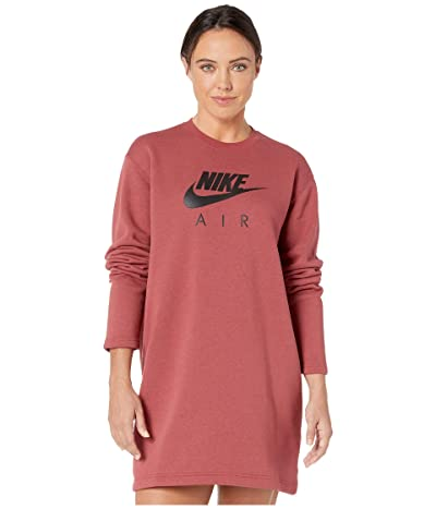Nike NSW Air Crew Dress Fleece (Cedar) Women