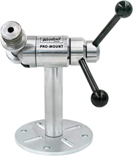 Pro-Mount Stand for Carving, Texturing and Embellishment with Complete Rotation and Pivot for Hands Free Secure Hold Lathe and Bench Wood Projects