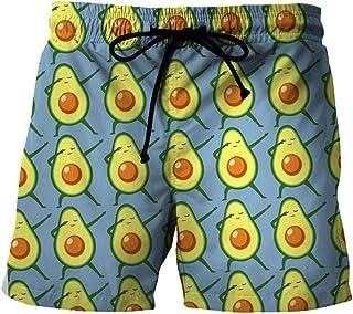 Men'S Shorts 3/4 Quick-Drying Beach Shorts 3D Printed Casual