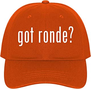 The Town Butler got Ronde? - A Nice Comfortable Adjustable Dad Hat Cap