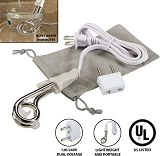Lewis N Clark yl205-White-One Size Immersion Heater 120/240V