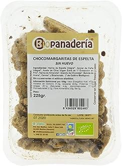 Biopanadería Chocomargaritas de Espelta Integral SIN HUEVO Galletas de Chocolate Ecológicas Pastas Artesanas Gourmet: Amazon.es: Alimentación y bebidas