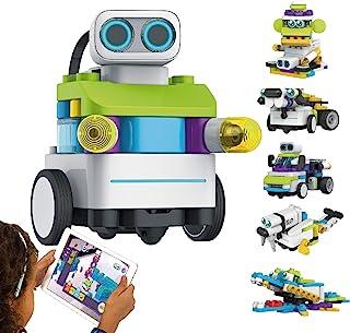 BOTZEES AR Coding Robots for Kids, Building Robot Toys, Robotics Kit, Educational STEM Toy, Early Programming for Boys Girls Ages 4+(APP Based)