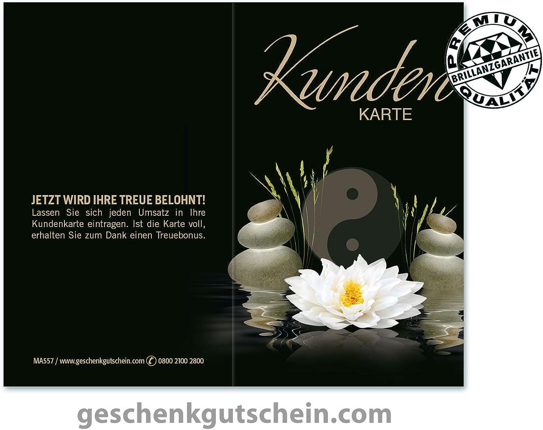 200 Stk. Kundenkarten für für für Kosmetikstudios, Wellness, Massage, Spa MA557 B075F5R1R1 | Deutschland Berlin  c355fb