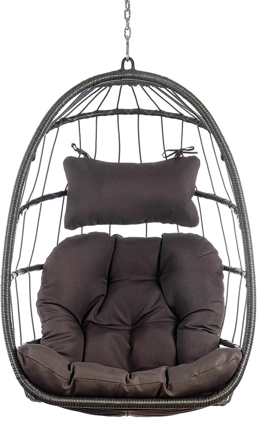 Lomubue Brand Cheap Sale Venue Hanging Egg Chair Hammock Outdoor Rocker Indoor Today's only