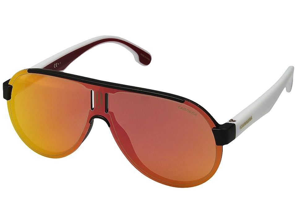 Carrera Carrera 1008/S (Matte Black/Red Mirror Lens) Sport Sunglasses