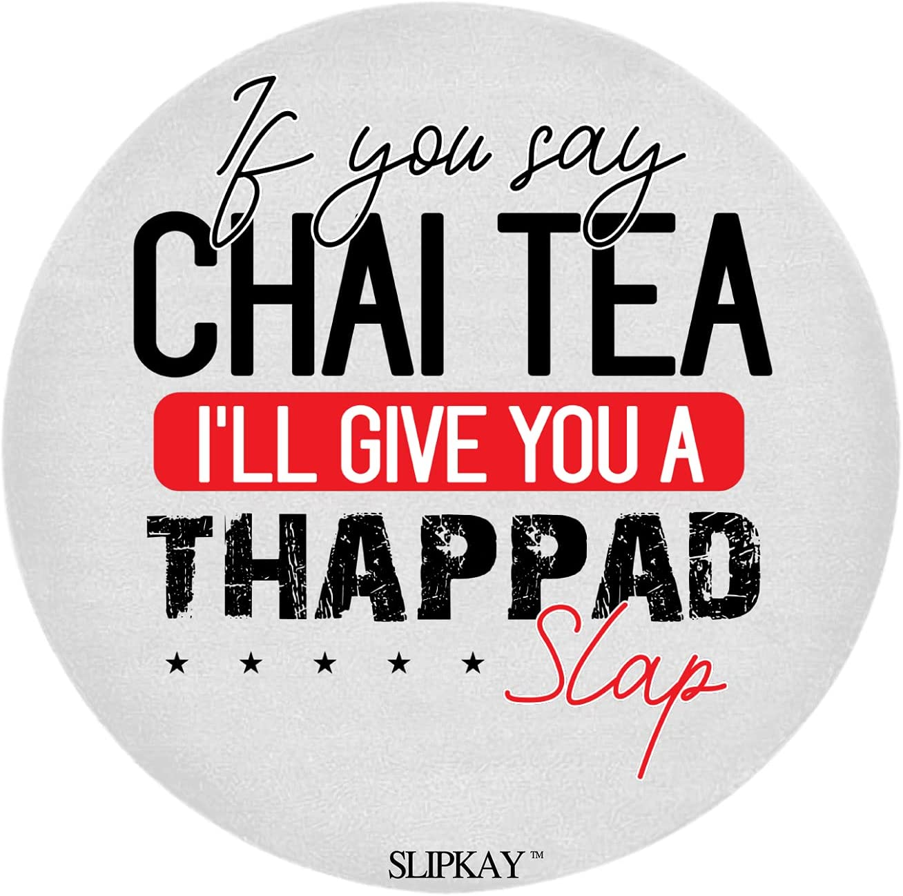 If You Say Chai NEW before selling ☆ Tea I Give Ll Slap Wholesale Round A Rug