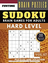 Sudoku Hard: Huge 300 hard SUDOKU puzzle books | sudoku hard to extreme difficulty Maths Book to Challenge Your Brain for Adult and Senior (hard sudoku puzzle books Vol.67)
