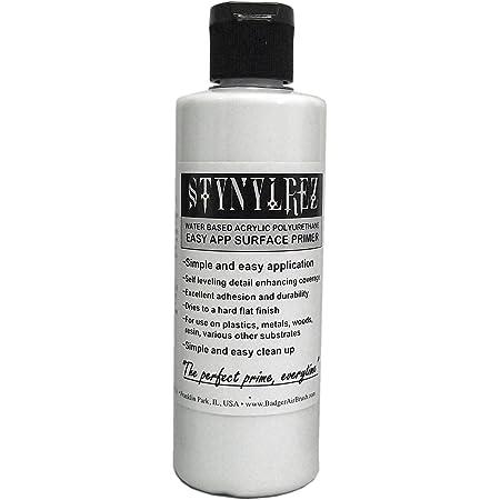 Badger Air-Brush Co. Stynylrez SNR-401 Primer, 4 Ounce, White