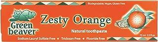 zesty orange natural toothpaste