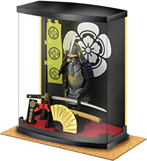 MEISTER JAPAN Authentic Samurai Armor Suitable for Business Gifts, Symbol of Japan, Excellent Japanese Souvenirs Series, with Cork mat (Oda Nobunaga)
