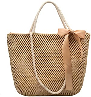 VogueZone009 Women's Tote Bags Casual Knot Blend Materials Crossbody Bags,CCABO218342