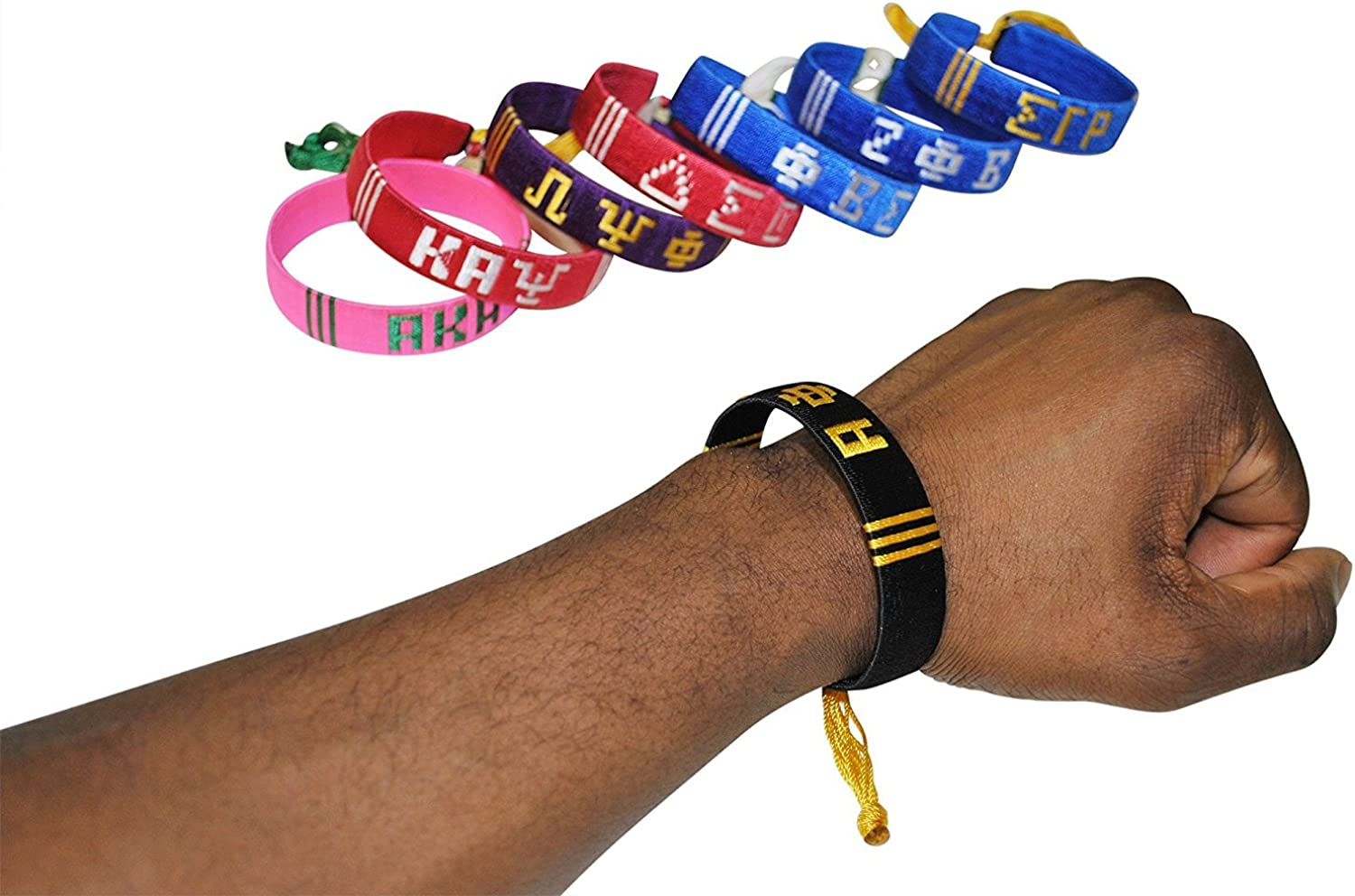 Greek Letter Bracelets (Kappa Alpha Psi)