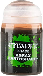 Games Workshop Citadel Shade Agrax Earthshade (0.8 fl. oz, 24ml) by Citadel