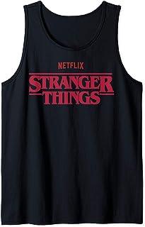 Stranger Things Netflix Logo Débardeur