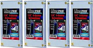 Ultra pro 1/4インチ スクリューダウン 4パックセット