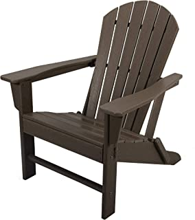 AsterOutdoor Folding Plastic Adirondack Classic Outdoor Composite Chair Design-Easy Maintenance & Weather Resistant for Pa...