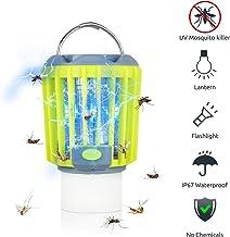 ERAVSOW Bug Zapper & LED Camping Lantern & Flashlight 3-in-1, Waterproof..